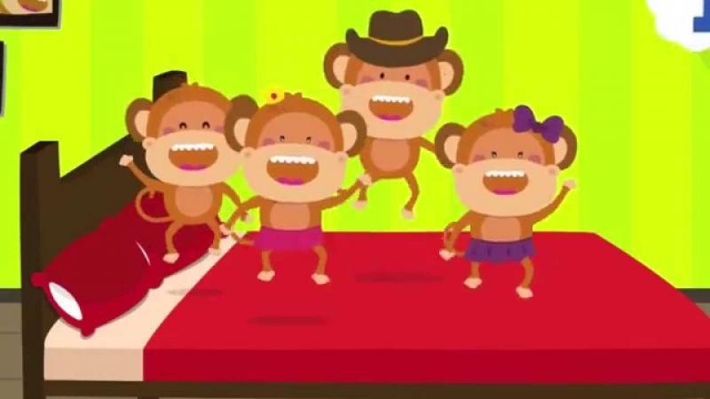 Five Little Monkeys Image