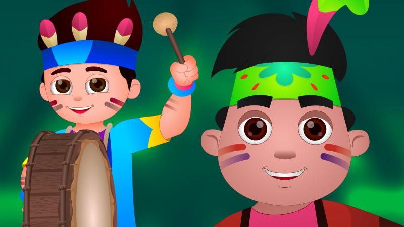 Ten Little Indians Image