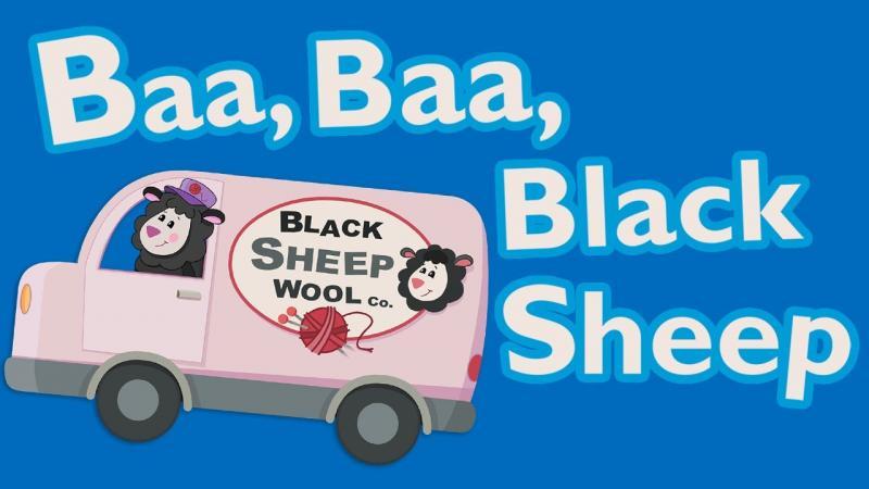 Baa, Baa, Black Sheep Image